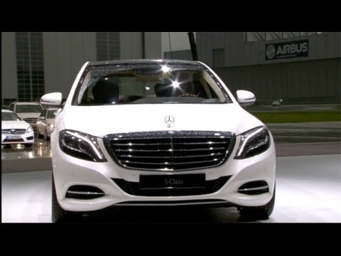 NEW 2014 Mercedes S-Class world premiere