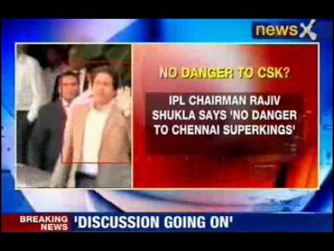 IPL finals will go ahead as scheduled Rajeev Shukla