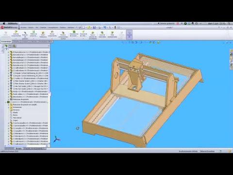 Construcción cnc casero para novatos PARTE 7 (planos)