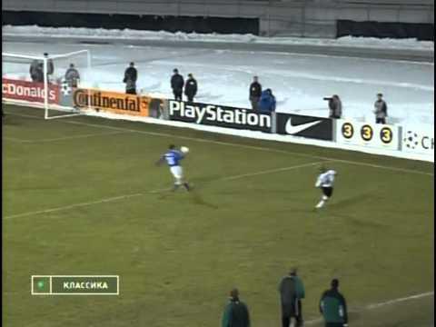 Русенборг (Тронхейм) - Динамо (Киев) 1:2. ЛЧ - 1999/00 (обзор) .