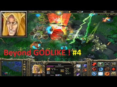 DotA 6.83c - Invoker, Carl Beyond GODLIKE #4