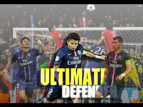 Thiago Silva - Ultimate Defender - PSG - 2015 HD