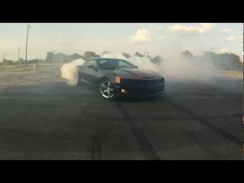 2010 Camaro SS 434 Horsepower Burnout