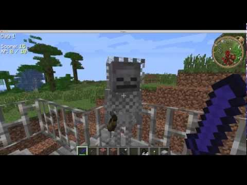 MineCraft Mo Creatures Mod Horses, Sharks, Crocs, Bears, Towns and More!!!