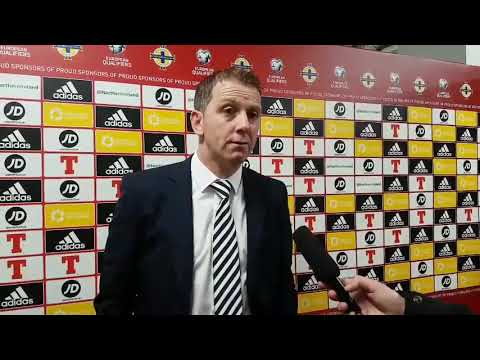 🗣 Vinny Perth: Post-match Interview (Linfield)