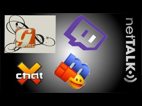 hexChat / IRC mit Twitch chat verbinden deutsch Tutorial (Ger)