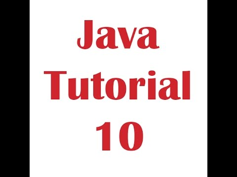 Java Programming Tutorial 10 - While loop