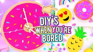DIY'S To Do When You're BORED! Easy DIY Room Decor Ideas!