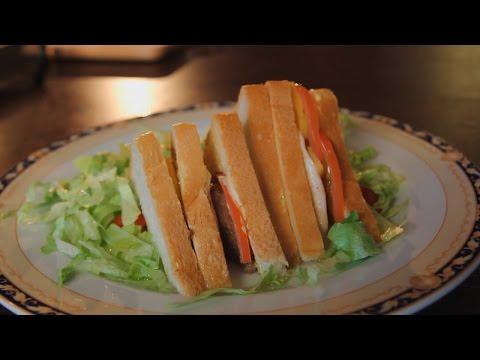 Итальянский сендвич. Рецепт от шеф-повара