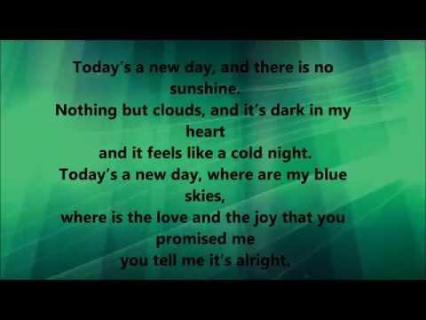 Kirk Franklin - I Smile (lyrics) video