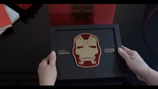 samsung galaxy s6 edge iron man limited edition unboxing