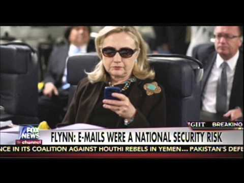 Gen. Mike Flynn-Hillary's server was probably hacked