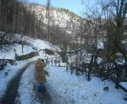 karakadı köyü kış manzaraları