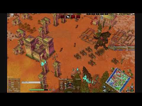Age of mythology the TITANS 2V2 online match