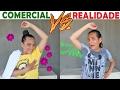 COMERCIAL VS REALIDADE! - JULIANA BALTAR