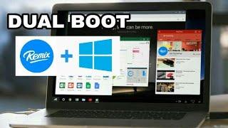 download lagu Tutorial Install Dual Boot Windows 10 Dan Remix Os gratis