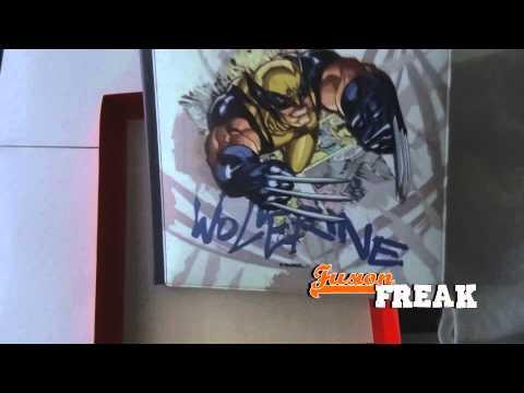 Wolverine (Lobezno), Unboxing del álbum de fotos oficial, de la firma PielFort Deluxe Photo Albums.