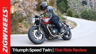 Triumph Speed Twin First Ride Review | A Friendlier Thruxton Or More? | ZigWheels.com
