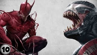 Top 10 Scariest Symbiotes