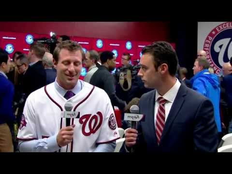 Max Scherzer explains why he chose to pitch for the Nationals