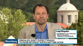 ECB Probably a Year Away From Hiking Rates, Says Zingales