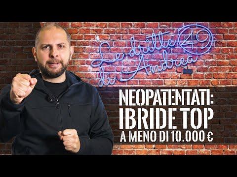 Neopatentati: AUTO IBRIDE TOP a meno di 10000 euro