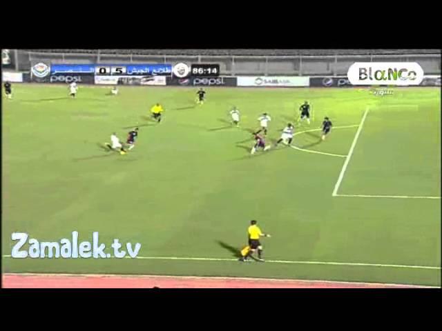 اهداف طلائع الجيش و النصر 5-0 الدوري المصري