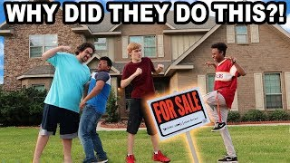 CAUGHT THE GUYS WHO TRIED SELLING OUR HOUSE!!