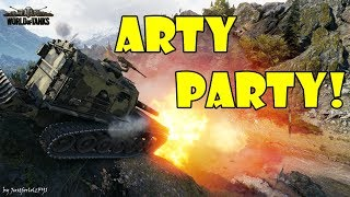 World of Tanks - Funny Moments | ARTY PARTY! (WoT, May 2018 / 1)