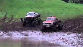 Chevy vs Ford Mud Trucks - At Eagle Mountain Mud Runs 2011