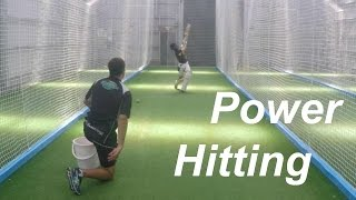 Hitting Sixes in Cricket Tips - Power Hitting