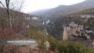 Toulon.Grand canyon du Verdon. Provence. France