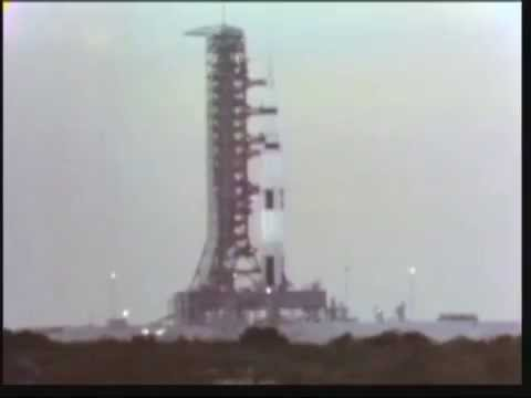 Launch of Apollo 4 first Saturn V as seen LIVE on CBS w/ Walter Cronkite