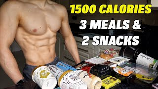 1500 CALORIE MEAL PLAN | Low Calorie Diet for Weight Loss (& Muscle Building)...