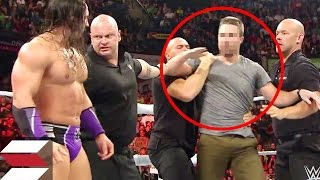10 Times Wrestlers Got Attacked By Fans
