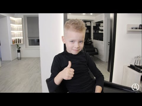 Как подстричь ребенка./ Модная детская стрижка. / How to cut a child/ children's haircut.