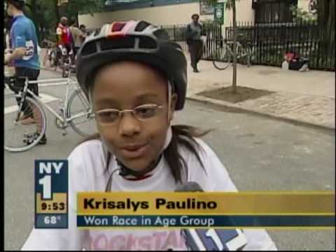 2009 Skycraper Harlem Cycling Classic on NY1