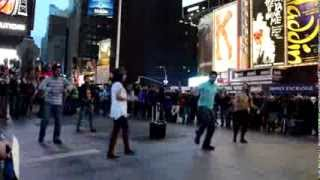 ICC T 20 2014  theme song mob performance  City College of New York