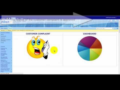 Customer Complaint using ADeX System.wmv