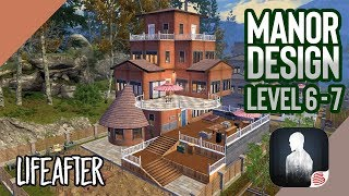 LifeAfter: Manor Design for Level 6 or 7   Beauty + Anti Raid Tutorial