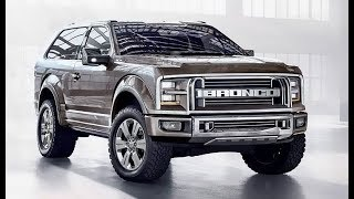 2018 Ford Bronco Truck SUV Expected Prices Release Date USA