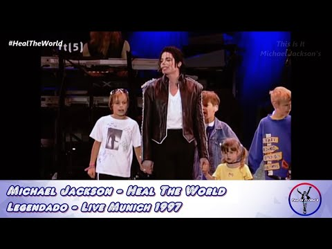 Michael Jackson - Heal The World LIVE - Legendado