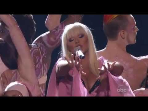 Christina Aguilera - Lotus Army Of Me_ Let there be love AMA 2012