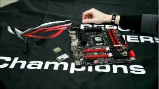 How to use the mPCIe Combo Card on the Maximus V GENE motherboard