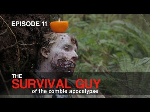 Survival Guy: Make a Candle Out Of Fruit - Ep. 11