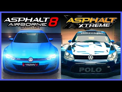 Asphalt 8 vs Xtreme | Graphics Comparison [ORIGINAL]