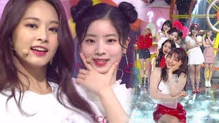"""""""Comeback Special"""" TWICE - What is Love? @ Popular Inkigayo 20180415"""