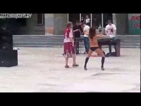 Rus Kız Seksi Dans Show