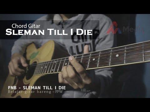 Belajar Gitaran lagu  FNB- SLEMAN TILL I DIE ( Cover Guitar ) PSS SLEMAN