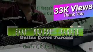 Ekai Nungshi Yanare - Sangeeta & AJ Maisnam - Guitar Rhythm Cover